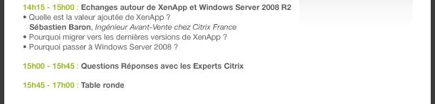 Club des utilisateurs Citrix